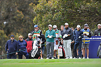 Paul Dunne (IRL) and Shane Lowry (IRL) during the 3rd round of the World Cup of Golf, The Metropolitan Golf Club, The Metropolitan Golf Club, Victoria, Australia. 24/11/2018<br /> Picture: Golffile | Anthony Powter<br /> <br /> <br /> All photo usage must carry mandatory copyright credit (&copy; Golffile | Anthony Powter)