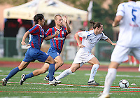 of Crystal Palace Baltimore of the Montreal Impact during an NASL match at Paul Angelo Russo Stadium in Towson, Maryland on August 21 2010. Montreal won 5-0.