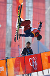 Maddie Bowman (USA), <br /> FEBRUARY 20, 2018 - Freestyle Skiing : Women's Ski Halfpipe Final at Phoenix Snow Park during the PyeongChang 2018 Olympic Winter Games in Pyeongchang, South Korea. <br /> (Photo by MATSUO.K/AFLO)