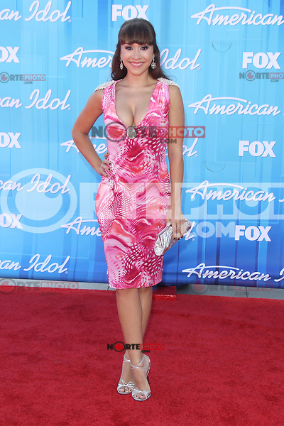 Diana DeGarmo at Fox's 'American Idol 2012' Finale Results Show at Nokia Theatre L.A. Live on May 23, 2012 in Los Angeles, California. ©mpi27/MediaPunch Inc.
