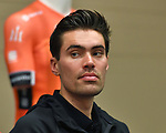 Tom Dumoulin (NED) Team Sunweb at top riders press conference in Lido di Camaiore start venue ahead of the 54th Tirreno-Adriatico 2019 stage race, Italy. 12th March 2019.<br /> Picture: LaPresse/Gian Mattia D'Alberto | Cyclefile<br /> <br /> <br /> All photos usage must carry mandatory copyright credit (© Cyclefile | LaPresse/Gian Mattia D'Alberto)