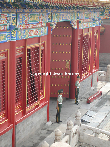 Guards at the Forbidden City and Imperial Palace, Beijing