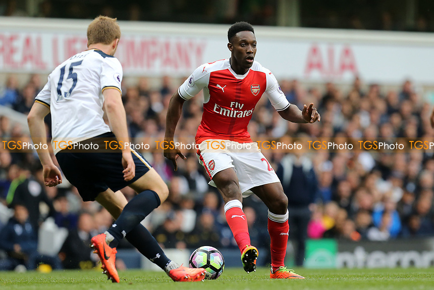 Eric Dier of Tottenham Hotspur and Danny Welbeck of Arsenal during Tottenham Hotspur vs Arsenal, Premier League Football at White Hart Lane on 30th April 2017