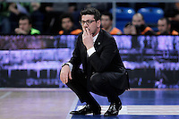 Uxue Bilbao Basket's coach Fotis Katsikaris during Spanish Basketball King's Cup match.February 07,2013. (ALTERPHOTOS/Acero) /NortePhoto