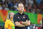 Shimpei Oikawa (JPN), <br /> SEPTEMBER 8, 2016 - Wheelchair Basketball : <br /> Preliminary Round Group A<br /> match between Turkey 65-49 Japan<br /> at Carioca Arena 1<br /> during the Rio 2016 Paralympic Games in Rio de Janeiro, Brazil.<br /> (Photo by AFLO SPORT)