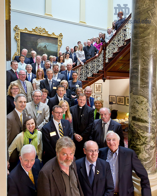 Aug. 31, 2012; Ireland Council meeting at Farmleigh House in Dublin, Ireland...Photo by Matt Cashore/University of Notre Dame