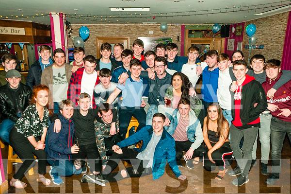 Double 18th Birthdays: Padraigh Hunt, Ballygarrett, Listowel & Patrick Carmody, Moyvane celebrating their 18th birthdays together at Christy's Bar, Listowel on Saturday night last.