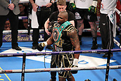 24th March 2018, O2 Arena, London, England; Matchroom Boxing, WBC Silver Heavyweight Title, Dillian Whyte versus Lucas Browne; Dillian Whyte before the start of his fight against Lucas Browne