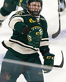 Rob Hamilton (UVM - 5) - The Boston College Eagles defeated the University of Vermont Catamounts 7-4 on Saturday, March 11, 2017, at Kelley Rink to sweep their Hockey East quarterfinal series.The Boston College Eagles defeated the University of Vermont Catamounts 7-4 on Saturday, March 11, 2017, at Kelley Rink to sweep their Hockey East quarterfinal series.