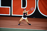 ATHENS, GA - MAY 23: Taylor Davidson of Stanford University competes in Division I Women's Tennis Championship held at the Dan Magill Tennis Complex on the University of Georgia campus on May 23, 2017 in Athens, Georgia. (Photo by Steve Nowland/NCAA Photos via Getty Images)