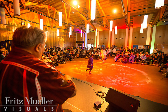 Adaka Cultural Festival 2016, Whitehorse, Yukon, Canada, Yukon First Nation Culture and Tourism Association, Kwanlin Dun Cultural Centre, jigging