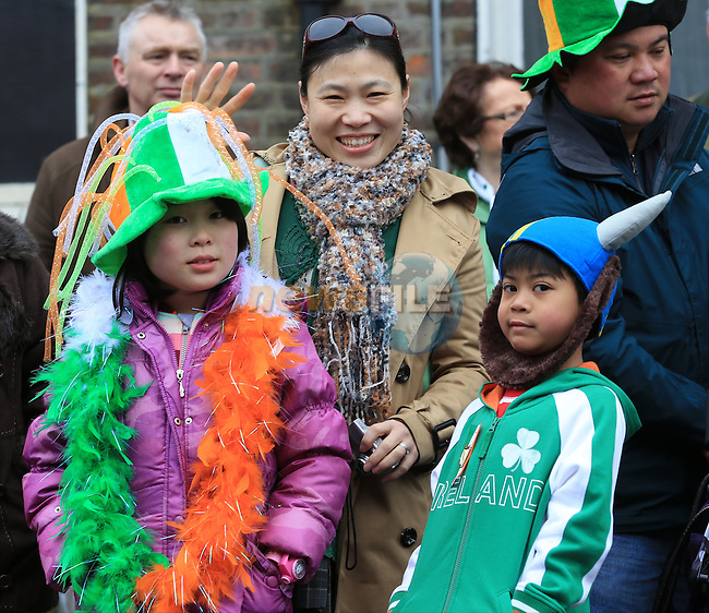 St Patricks Day parade in Drogheda..Picture: Fran Caffrey / www.newsfile.ie ..