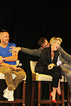 General Hospital's actors - William DeVry - Maura West - James Patrick Stuart on October 5, 2019 at the Hollywood Casino, Columbus, Ohio with a Q & A and a VIP meet and greet. (Photo by Sue Coflin/Max Photo)