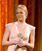 Washington, D.C. - February 6, 2006 -- LeAnn Rimes performs for United States President George W. Bush and first lady Laura Bush in the East Room of the White House honoring the Dance Theatre of Harlem and its Founder and Artistic Director, Arthur Mitchell,  in Washington, D.C. on February 6, 2006. <br /> Credit: Ron Sachs / CNP