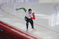 SPEED SKATING: INZELL: 04-12-2015, Max Aicher Arena, ISU World Cup, Team Italy, ©foto Martin de Jong