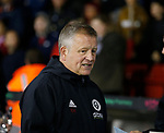 Chris Wilder manager of Sheffield Utd during the Championship match at the Bramall Lane Stadium, Sheffield. Picture date 27th September 2017. Picture credit should read: Simon Bellis/Sportimage
