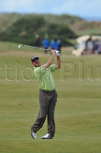 15/07/10 Jerry Kelly (USA) in action  on the Old Course , St  Andrews, Fife, Scotland in the first round of  British Open Championship