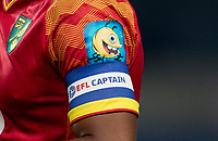 Norwich City EFL Captains armband during the The Leasing.com Trophy match between Oxford United and Norwich City U21 at the Kassam Stadium, Oxford, England on 3 September 2019. Photo by Andy Rowland.