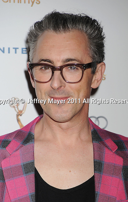 WEST HOLLYWOOD, CA - SEPTEMBER 16: Alan Cumming  attends the 63rd Annual Emmy Awards Performers Nominee Reception held at the Pacific Design Center on September 16, 2011 in West Hollywood, California.