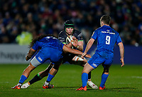 4th January 2020; RDS Arena, Dublin, Leinster, Ireland; Guinness Pro 14 Rugby, Leinster versus Connacht; Eoghan Masterson of Connacht is tackled by Joe Tomane of Leinster - Editorial Use
