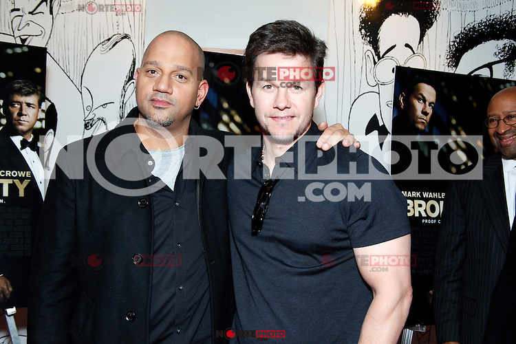 PHILADELPHIA, PA - JANUARY 8 :  Mark Wahlberg pictured with director Allen Hughes at a special Philly advance screening of Broken City at the Prince Music Theater in Philadelphia, Pa on January 8, 2013 ***HOUSE COVERAGE***  © Star Shooter / MediaPunch Inc /NortePhoto© /NortePhoto /NortePhoto