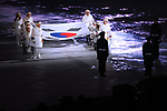 General view, <br /> MARCH 9, 2018 - : <br /> PyeongChang 2018 Paralympics Winter Games Opening Ceremony <br /> at PyeongChang Olympic Stadium in Pyeongchang, South Korea. <br /> (Photo by Sho Tamura/AFLO SPORT)