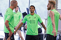 Pictured: Kyle Naughton of Swansea City during the Swansea City FC training session at the Fairwood training ground in Swansea, Wales, UK Saturday 29 June 2019Saturday 29 June 2019<br /> Re: Swansea City FC training, Fairwood, near Swansea, Wales, UK