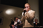The Nick Stefanacci Band performs at the Theater Square Grill and Bistro at the New Jersey Performing Arts Center in Newark, NJ.