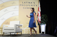 """Washington, DC - September 24, 2019: Florida Lieutenant Governor The Honorable Jeanette M. Nuñez delivers remark about """"Leading Latinas"""" today Sep 24, 2019 at Latina's Prosperity Summite in Washington DC. Florida Lieutenant Governor Jeanette M. Nuñez  September 24, 2019. (Photo by Lenin Nolly/Media Images International)"""