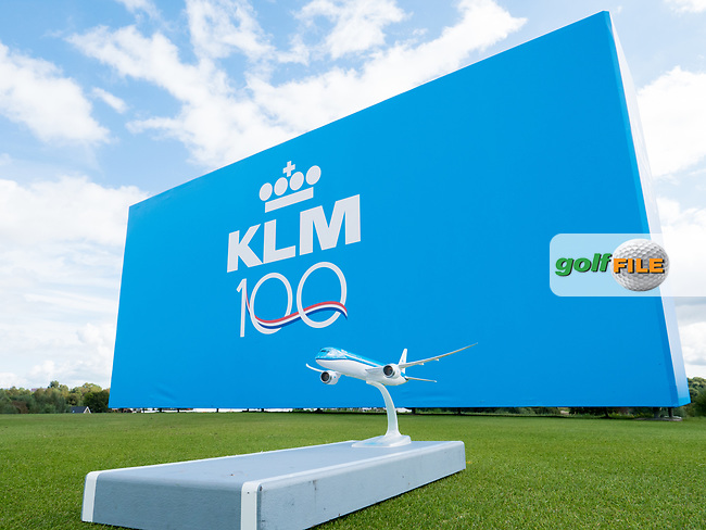 Sponsor along the course during the 2nd round at the KLM Open, The International, Amsterdam, Badhoevedorp, Netherlands. 13/09/19.<br /> Picture Stefano Di Maria / Golffile.ie<br /> <br /> All photo usage must carry mandatory copyright credit (© Golffile | Stefano Di Maria)