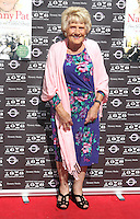 """London - TOWIE star Nanny Pat - aka Patricia Brooker - launches her new book """" Penny Sweets and Cobbled Streets: My East End Childhood"""" at Mayfair Exchange, London - August 28th 2012..Photo by Keith Mayhew"""