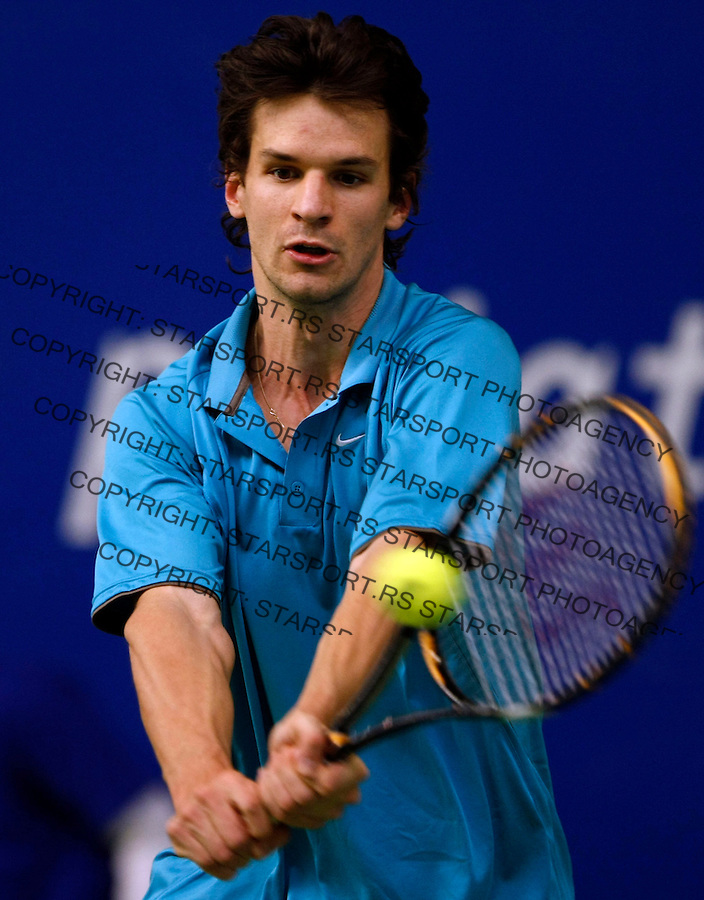 Tenis, Gemax OPEN 2008.Final match.Roko Karanusic Vs. Philipp Petzschner (GER).Beograd, 16.02.2008..foto: Srdjan Stevanovic