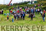 The fine weather drew a good crowd for the Annual race meeting in Cahersiveen on Sunday pictured here some of the spectators.
