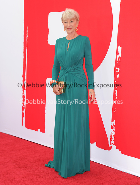 Helen Mirren at The Summit Entertainment L.A. Premiere of RED 2 held at Westwood Village in Westwood, California on July 11,2013                                                                   Copyright 2013 Hollywood Press Agency