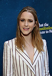 "Rachel Brosnahan attending the Broadway Opening Night Performance of  ""What The Constitution Means To Me"" at the Hayes Theatre on March 31, 2019 in New York City."