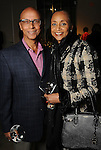 Cheryl and Percy Creuzot at Martini Madness at the Center for Contemporary Craft Thursday Jan. 22,2015.(Dave Rossman For the Chronicle)
