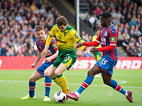Norwich City Kenny McLean during the Premier League match between Crystal Palace and Norwich City at Selhurst Park, London, England on 28 September 2019. Photo by Andrew Aleksiejczuk / PRiME Media Images.