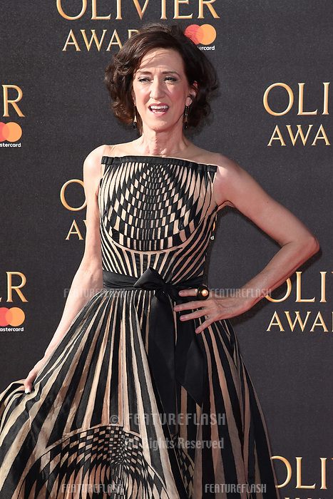 Haydn Gwynne at The Olivier Awards 2017 at the Royal Albert Hall, London, UK. <br /> 09 April  2017<br /> Picture: Steve Vas/Featureflash/SilverHub 0208 004 5359 sales@silverhubmedia.com