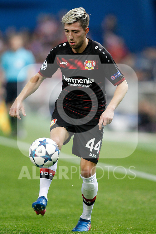Bayer 04 Leverkusen's Kevin Kampl during Champions League 2016/2017 Round of 16 2nd leg match. March 15,2017. (ALTERPHOTOS/Acero)