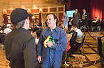 Eric Hershler was the last WPT season 5 champion left standing.  Here he talks to Kirk Morrison after being knocked out.