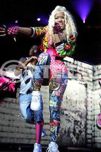 Nicki Minaj headlines Wired 96.5 Fest at The Susquehanna Bank Center in Camden, New Jersey on June 1, 2012  © Star Shooter / MediaPunchInc