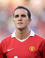 John O'Shea. Manchester United defeated Philadelphia Union, 1-0.