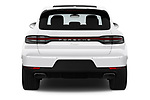 Straight rear view of a 2019 Porsche Macan Base 5 Door SUV stock images