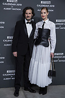 "Matteo Ceccarini, Eva Riccobono attends the gala night for official presentation of the Presentation of the Pirelli Calendar 2019 ""The cal"" held at the Hangar Bicocca. Milan (Italy) on december 5, 2018. Credit: Action Press/MediaPunch ***FOR USA ONLY***"