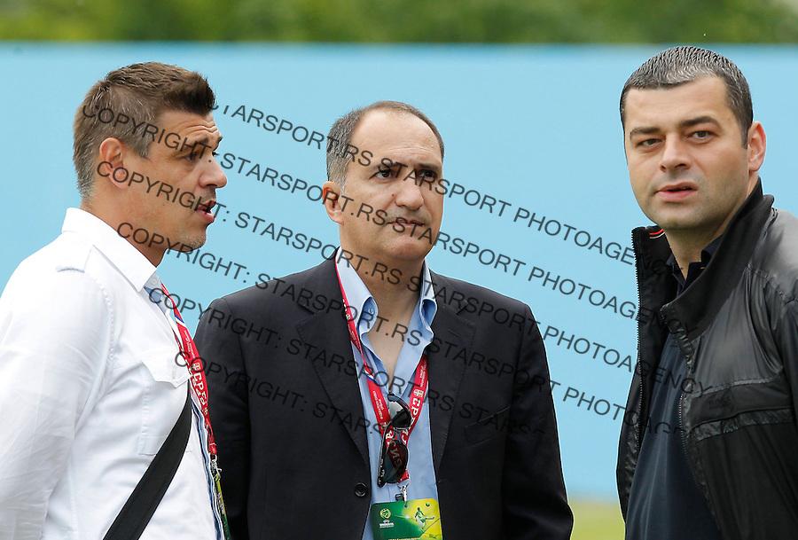 serbia v switzerland uefa european 19 chionship