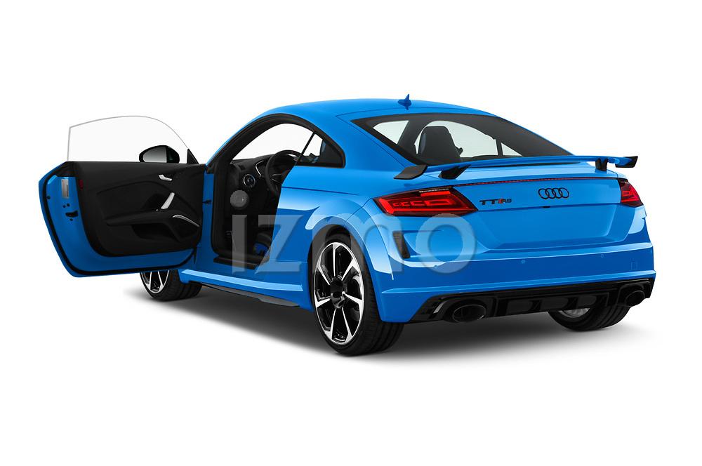 Car images close up view of a 2019 Audi TT RS Base 3 Door Coupe doors