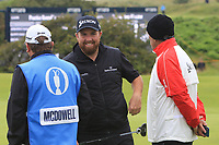 Shane Lowry (IRL) on the 9th during the preview of the the 148th Open Championship, Portrush golf club, Portrush, Antrim, Northern Ireland. 17/07/2019.<br /> Picture Thos Caffrey / Golffile.ie<br /> <br /> All photo usage must carry mandatory copyright credit (© Golffile | Thos Caffrey)