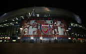 2nd November 2017, Emirates Stadium, London, England; UEFA Europa League group stage, Arsenal versus Red Star Belgrade; General view of the Emirates Stadium before kick off