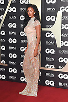 LONDON, UK. September 03, 2019: Maya Jama arriving for the GQ Men of the Year Awards 2019 in association with Hugo Boss at the Tate Modern, London.<br /> Picture: Steve Vas/Featureflash