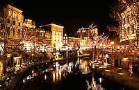 Utrecht- De Oudegracht rond de feestdagen